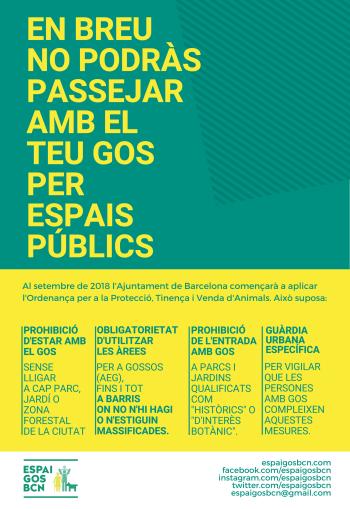 cartell informatiu Ordenança TPVA