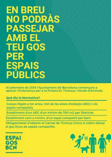 Flyer informatiu Ordenança TPVA